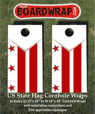 Washington DC Cornhole Wraps