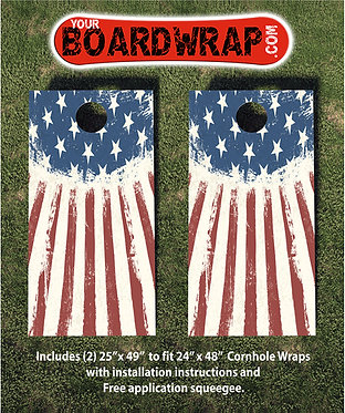 Cornhole Board Wrap 198