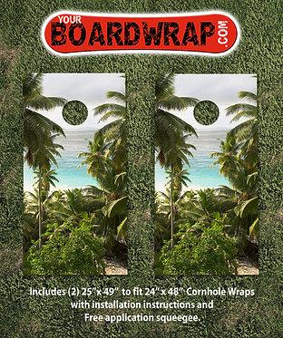 Cornhole Board Wrap 509