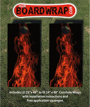 Cornhole Board Wrap 215