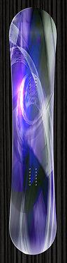 Purple Metal Snowboard Wrap Design 250