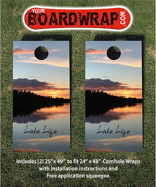 Cornhole Board Wrap 401