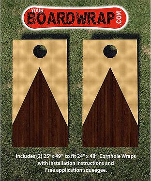 Cornhole Board Wrap 121B