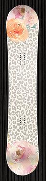 Leopard Print Floral Design yourboardwrap.com