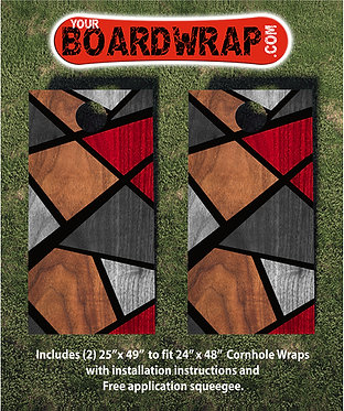 Cornhole Board Wrap 020