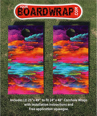 Cornhole Board Wrap 293