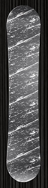 Gray Scratch Design Board Wrap