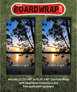 Cornhole Board Wrap 403