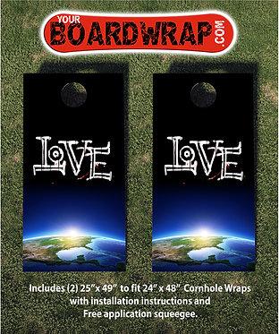 Cornhole Board Wrap 103