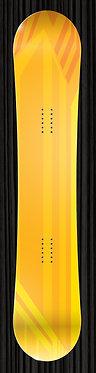 Orange Yellow Design Board Wrap