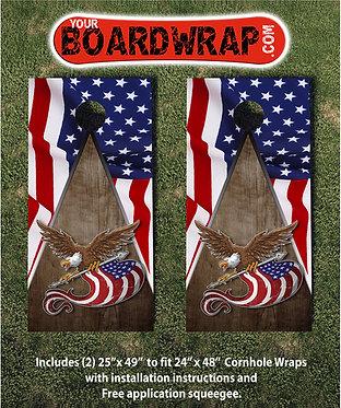 Cornhole Board Wrap 449