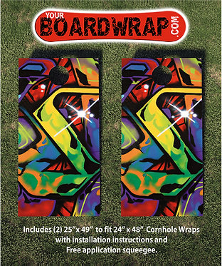 Cornhole Board Wrap 159