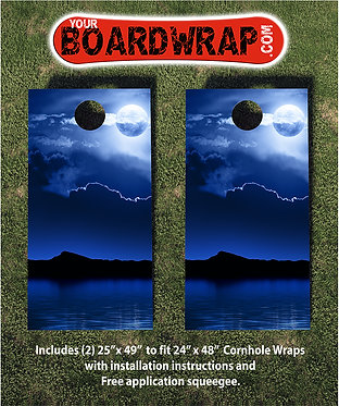 Cornhole Board Wrap 102