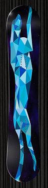 Blue Leopard Snowboard 304