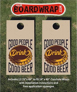 Cornhole Board Wrap 094