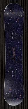 Gemini Snowboard Wrap | Zodiac Collection