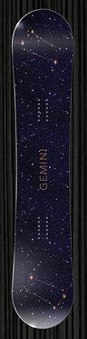 Gemini Snowboard Wrap   Zodiac Collection