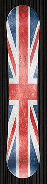 Faded Union Jack Flag Design
