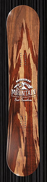 Wood Mountain Snowboard Wrap