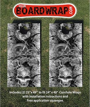 Cornhole Board Wrap 274