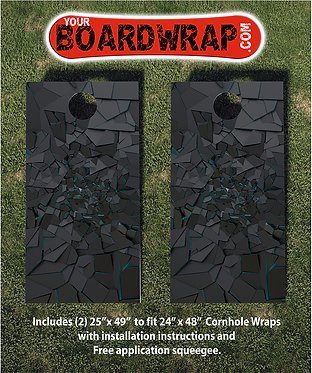 Cornhole Board Wrap 343