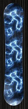 Blue Lightning Electric Wrap Design