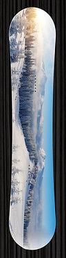 Mountain Scene Snowboard