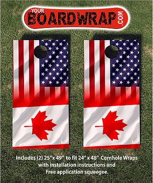 Cornhole Board Wrap 122