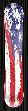 US Flag Grunge Design