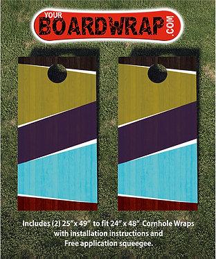 Cornhole Board Wrap 296