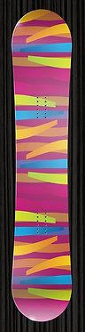 Purple Ribbon Design Board Wrap