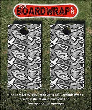 Cornhole Board Wrap 040