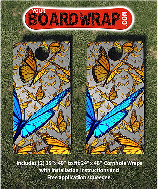 Cornhole Board Wrap 099