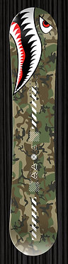 Army Camo Snowboard Wrap 247 | YourBoardWrap.com