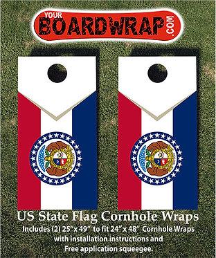 Missouri State Flag | Cornhole Game