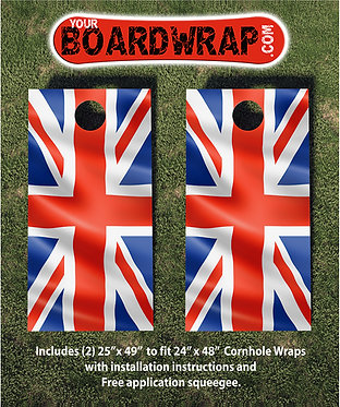 Cornhole Board Wrap 098