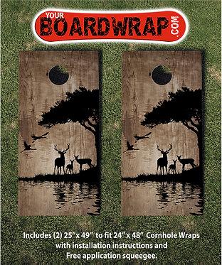 Cornhole Board Wrap 446