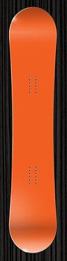 Orange Snowboard Wrap