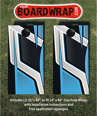 Cornhole Board Wrap 344