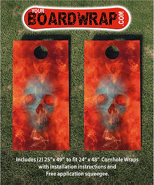 Cornhole Board Wrap 238