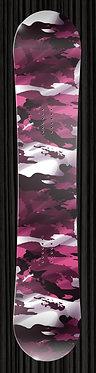 Pink Camo Snowboard Wrap Design 016b