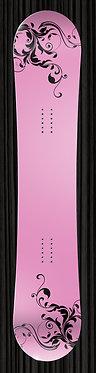 Pink Board Wrap | Snowboard Wrap