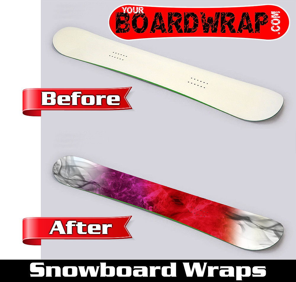 Turn your snowboard into a masterpiece with your design or ours!