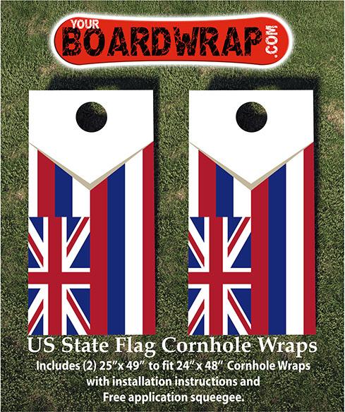 Hawaii State Flag Wrap