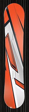 Orange snowboard 347