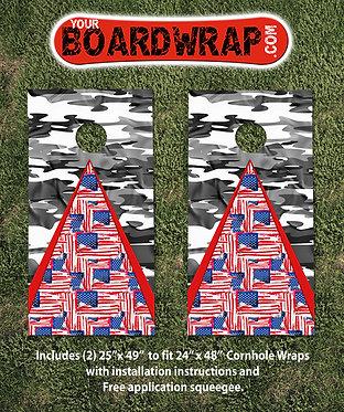 Cornhole Board Wrap 510