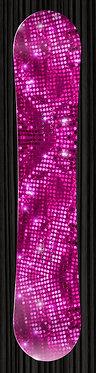 Glitter Design SnowBoard Wrap 262
