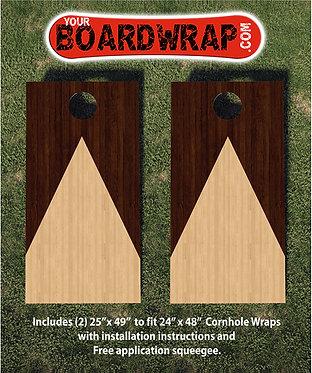 Cornhole Board Wrap 121A