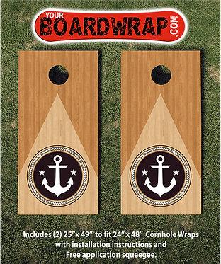 Cornhole Board Wrap 423