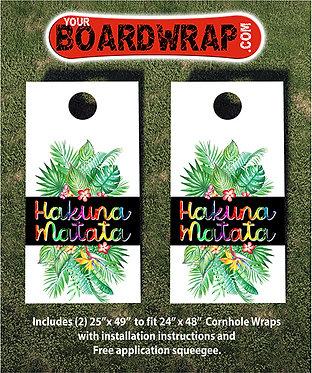 Cornhole Board Wrap 410